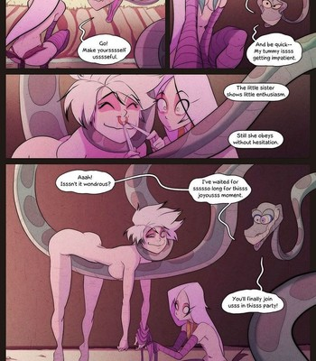 Of The Snake And The Girl 5 comic porn sex 010