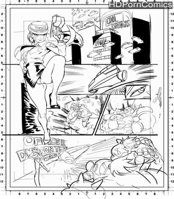 Porn Comics - Officer D.va On The Case