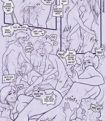 P.E. Orgy comic porn sex 003
