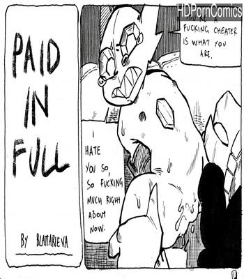 Porn Comics - Paid In Full