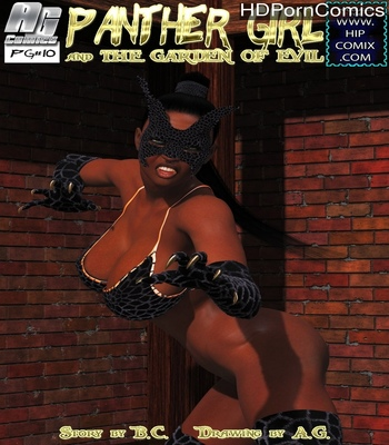 Panther Girl 10 comic porn