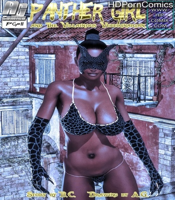Porn Comics - Panther Girl 11
