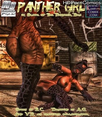 Porn Comics - Panther Girl 32