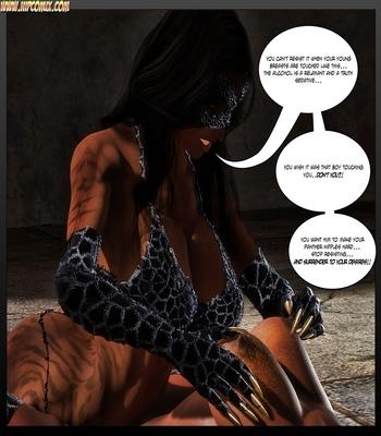 Panther Girl 33 comic porn sex 004