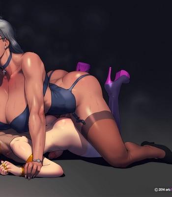 Peach's Cam Show comic porn sex 005