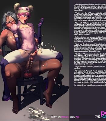 Peach's Cam Show comic porn sex 008