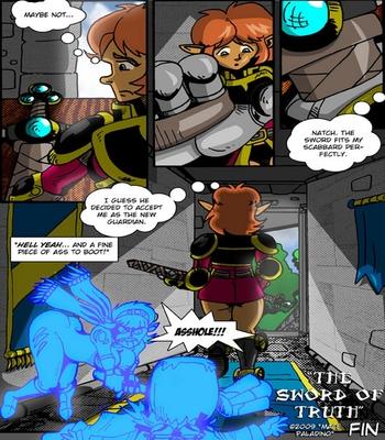 Peppermint Saga 1 – The Sword Of Truth comic porn