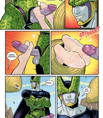 Perfect Cell Appears! And Lunch Too! comic porn
