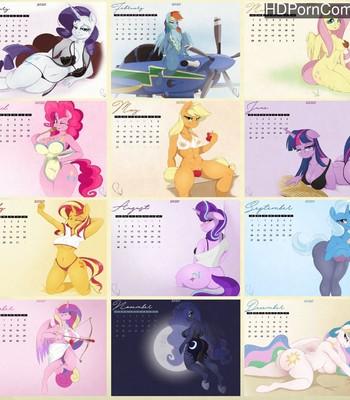Porn Comics - Phyll's 2020 Anthro Calendar