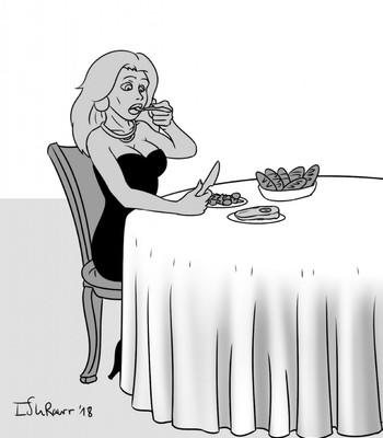 Pig In The Restaurant comic porn sex 002