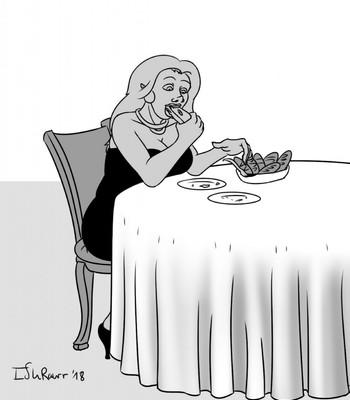 Pig In The Restaurant comic porn sex 003