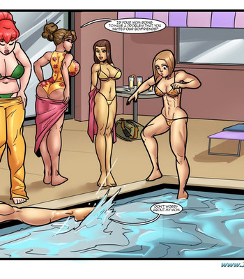 Pool Party comic porn sex 005