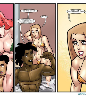 Pool Party comic porn sex 015