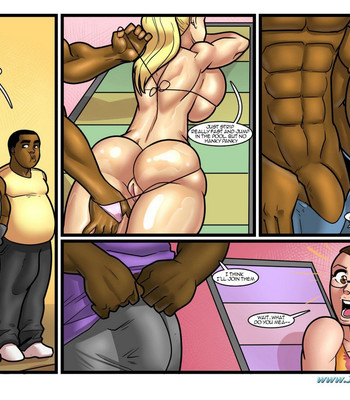 Pool Party comic porn sex 020