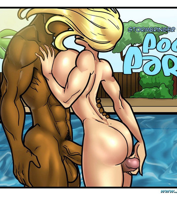 Pool Party comic porn sex 057