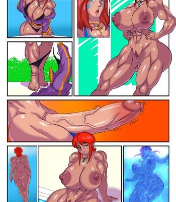 Poolside Fun comic porn sex 002