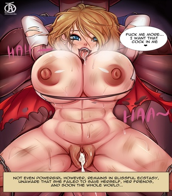 Power Girl Overpowered comic porn