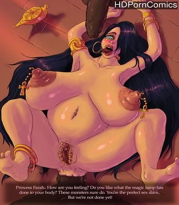 Porn Comics - Princess Farah And The Magic Lamp