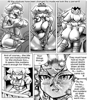 Princess Peach Wild Adventure 3 comic porn sex 016