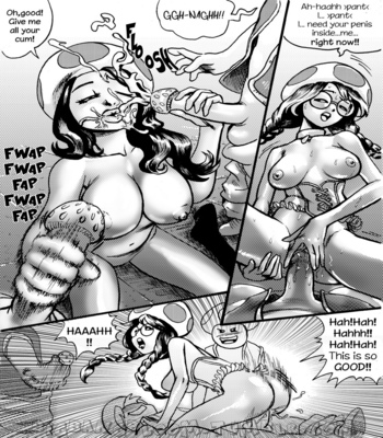 Princess Peach Wild Adventure 3 comic porn sex 018