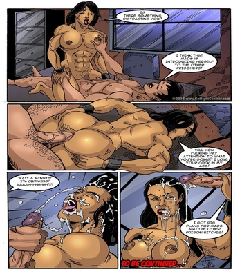 Prison Bitches 9 comic porn