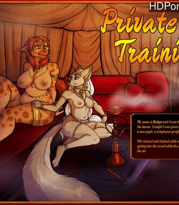 Porn Comics - Private Training