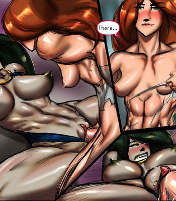 Questionably Possible 3 - In Sync comic porn sex 054