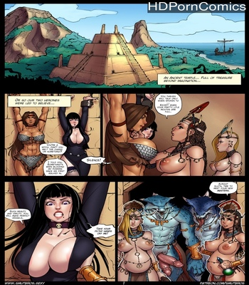 Porn Comics - Raiders Of The Lost Shadilay