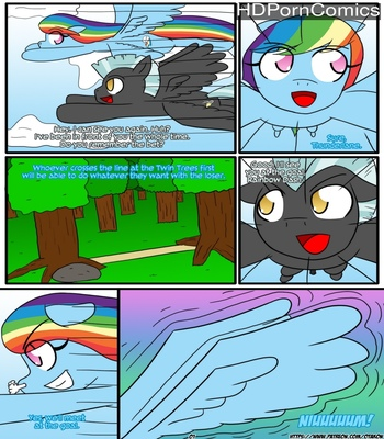 Porn Comics - Rainbow Maiden