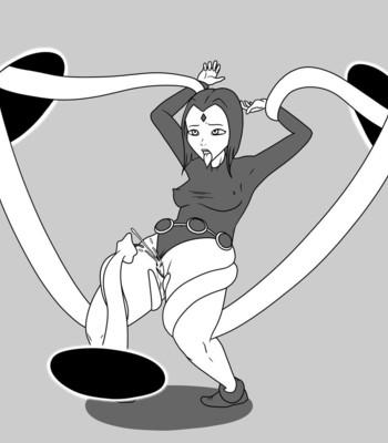 Raven's Corruption comic porn sex 016