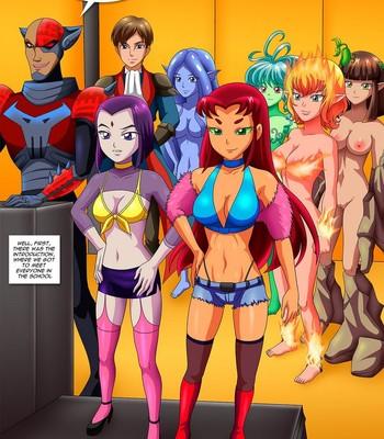 Raven's Lust 1 comic porn sex 008