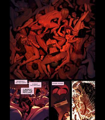 Resident Evil - Lover's Strain comic porn sex 004