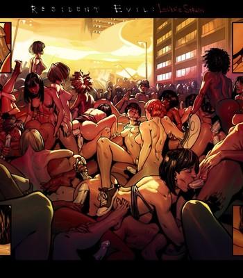 Resident Evil - Lover's Strain comic porn sex 005