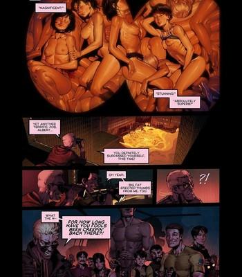 Resident Evil - Lover's Strain comic porn sex 006