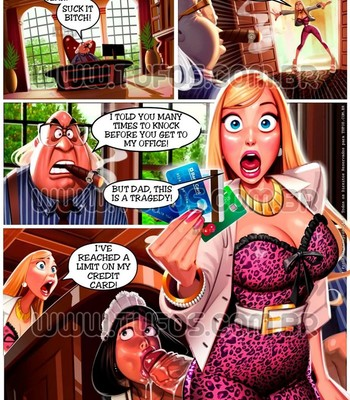 Rich Family 4 - Blowing The Credit Card comic porn sex 002