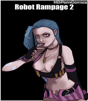 Porn Comics - Robot Rampage 2