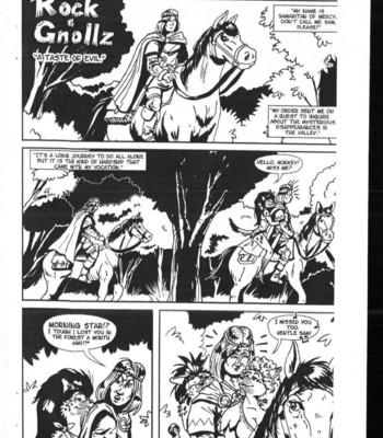 Porn Comics - Rock & Gnollz – A Taste Of Evil