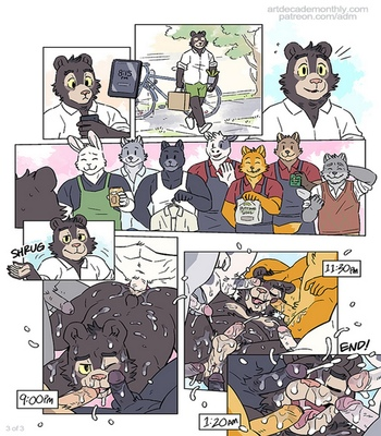 Running Errands With Willy Bear comic porn