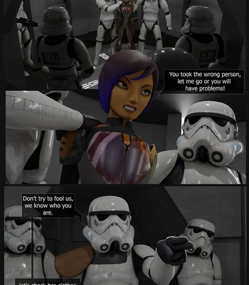 Porn Comics - Sabine In Custody