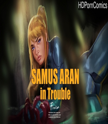 Porn Comics - Samus Aran In Trouble