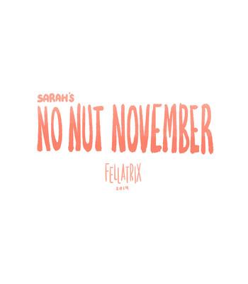 Porn Comics - Sarah's No Nut November 1