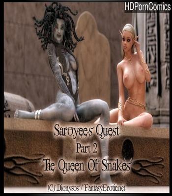 Porn Comics - Saroyee's Quest 2 – The Queen Of Snakes