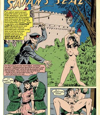 Porn Comics - Satan's Seal