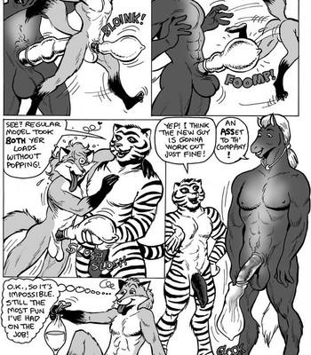 SchwingCo Condom Testing Department comic porn