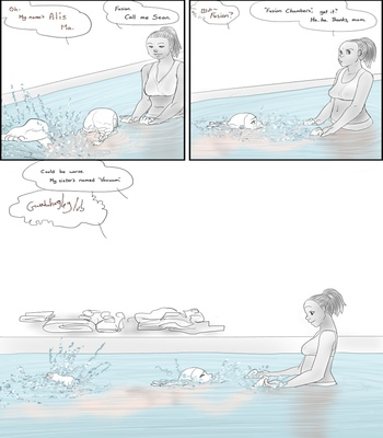 Scrub Diving 1 comic porn