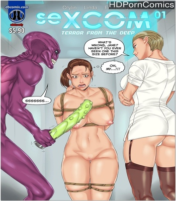 Porn Comics - Sexcom 1 – Terror From The Deep