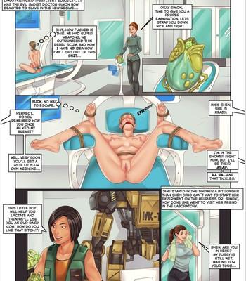 Sexcom 4 - I Robot comic porn sex 004
