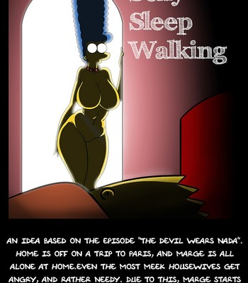 Porn Comics - Sexy Sleep Walking 1