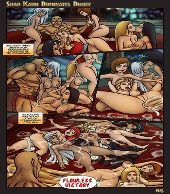 Shao Kahn Dominates Disney comic porn