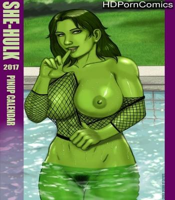 She-Hulk 2017 Calendar comic porn
